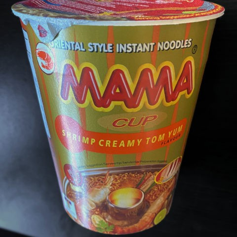 "#1943: Mama Cup ""Shrimp Creamy Tom Yum"""