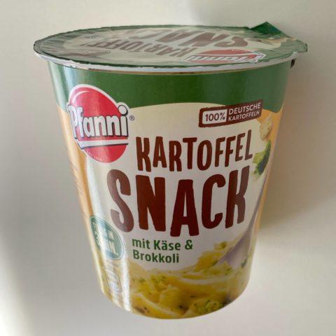 "#1549: Pfanni ""Kartoffel Snack mit Käse & Broccoli"""