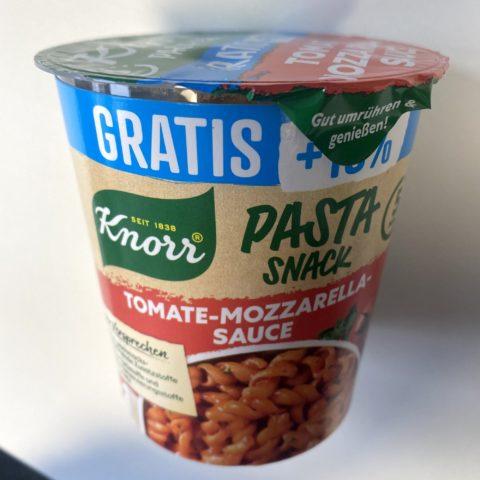 "#1995: Knorr Pasta-Snack ""Tomate-Mozzarella-Sauce"""