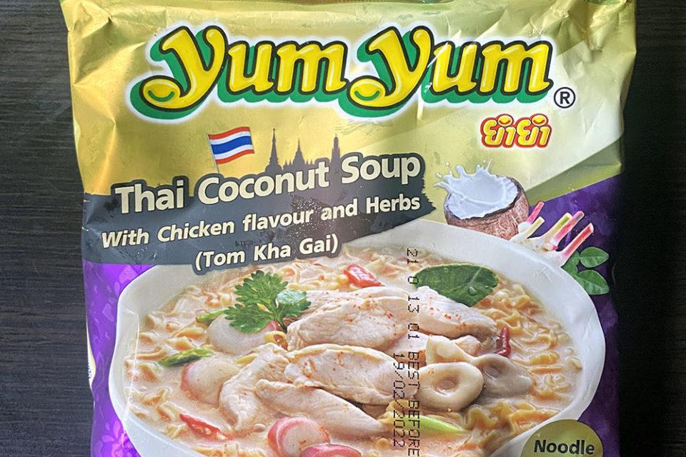 Yum Yum Thai Coconut Soup