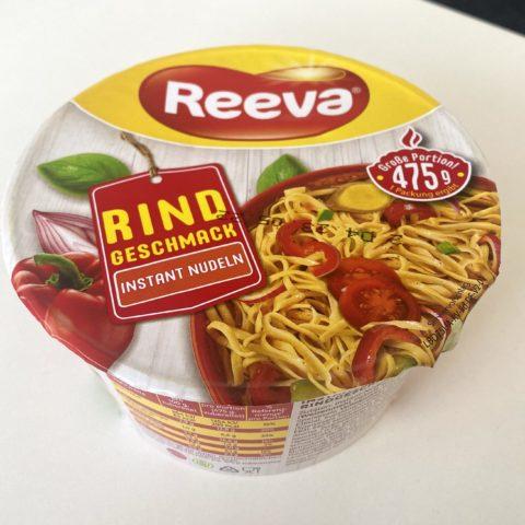 """#2052: Reeva """"Rind Geschmack"""" Instant Nudeln (Cup)"""