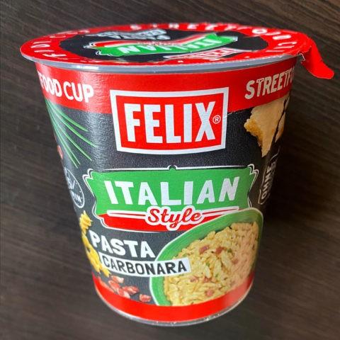 "#2126: Felix Italian Style ""Pasta Carbonara"""
