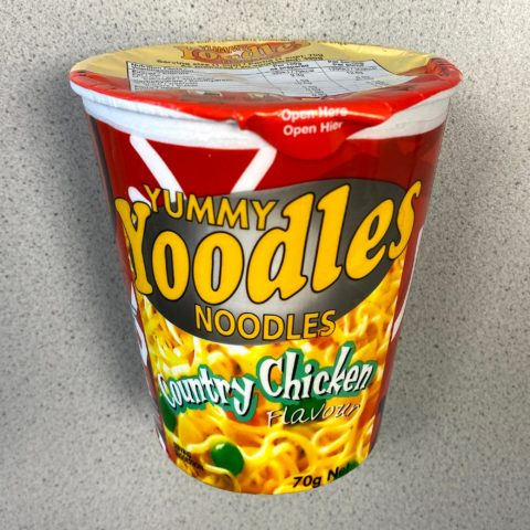 "#1726: Yummy Yoodles Noodles ""Country Chicken Flavour"""