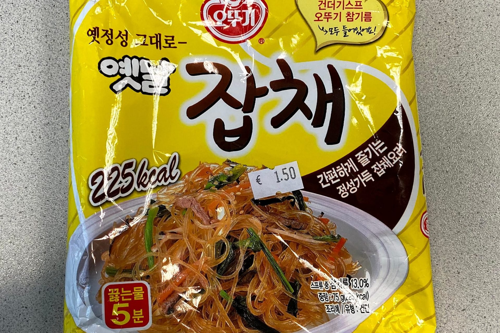 "#1363: Ottogi ""Japchae Vermicelli Noodle"""