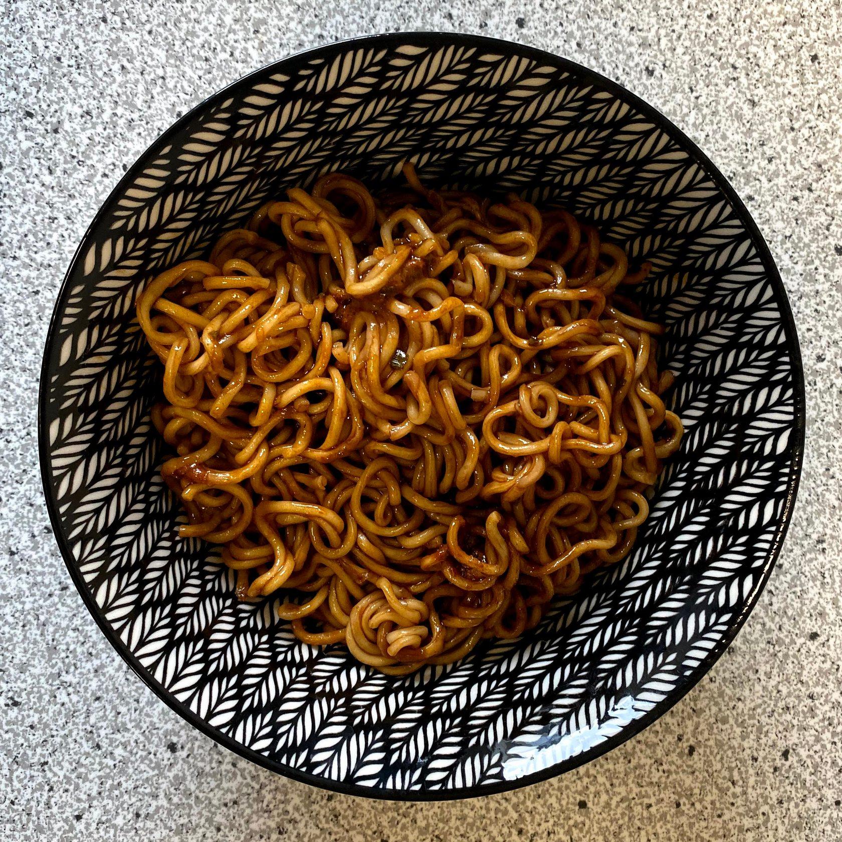 "#1231: Hankow Style Noodle ""Sesam Paste Hunan Spicy Flavour"""