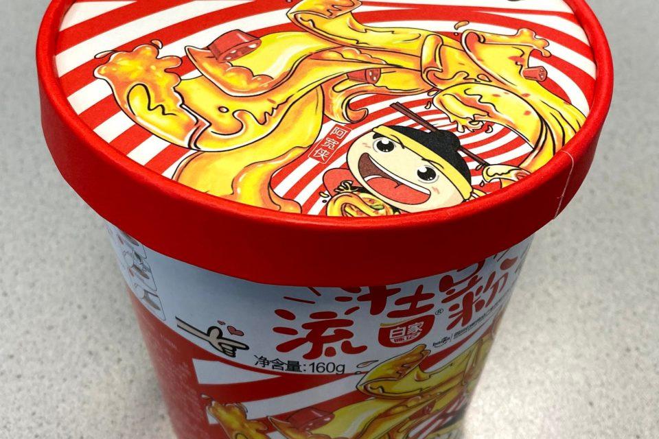 "#1766: Baijia ""Hot & Spicy Potato"" Big Cup"