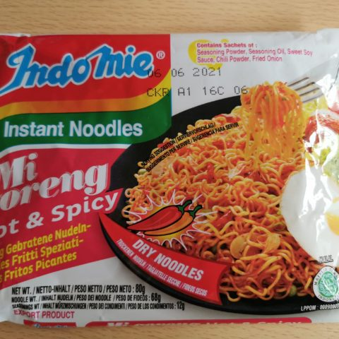 "#1961: Indomie ""Mi Goreng Hot & Spicy"" (2021)"