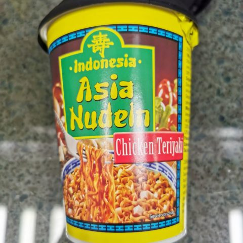"#1902: Indonesia ""Asia Nudeln Chicken Teriyaki"" Cup"