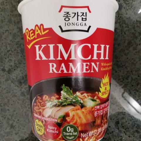 "#2066: Jongga ""Real Kimchi Ramen"" Cup"