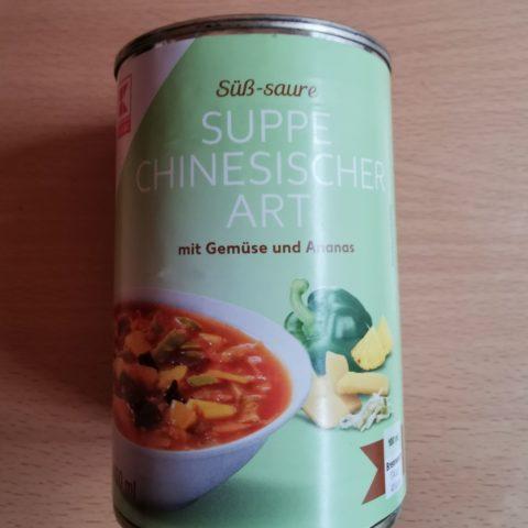 """#1916: K-Classic """"Süß-saure Suppe chinesischer Art mit Gemüse und Ananas"""""""