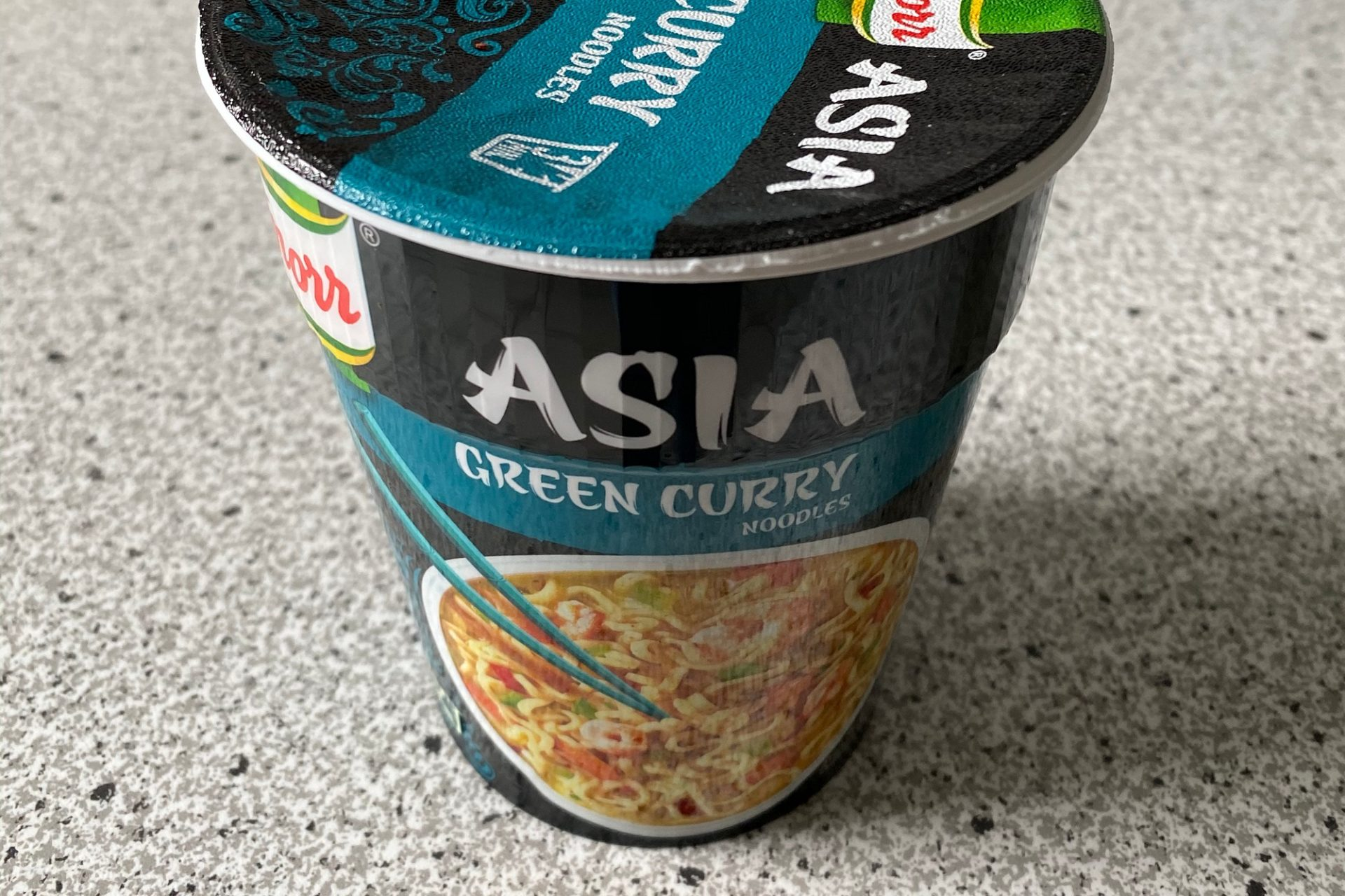 "#1255: Knorr Asia ""Green Curry Noodles"""