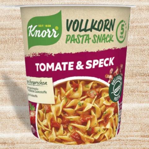 "#2058: Knorr Vollkorn Pasta Snack ""Tomate & Speck"""