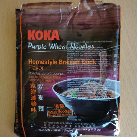 "#2106: Koka ""Purple Wheat Homestyle Braised Duck Flavor"""