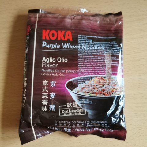 """#2121: Koka """"Purple Wheat Aglio Olio Flavor"""""""