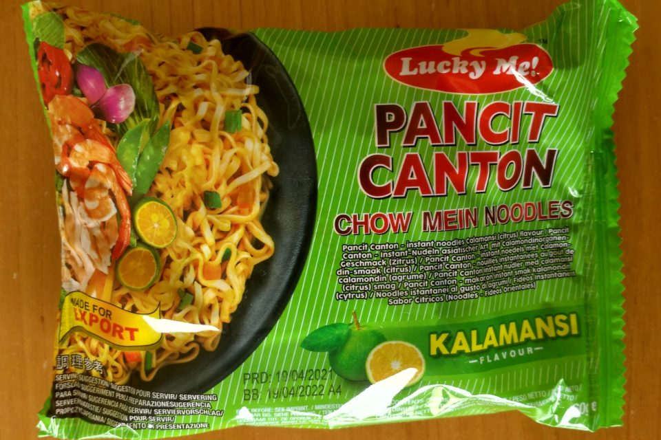 "#2051: Lucky Me! ""Pancit Canton Chow Mein Noodles Kalamansi Flavour"""