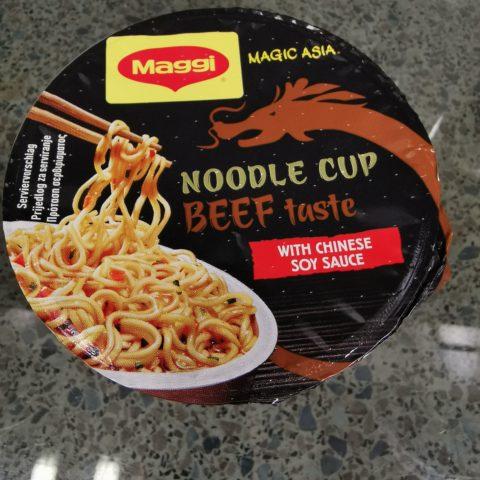 "#2003: Maggi ""Magic Asia Noodle Cup Beef Taste"" (2021)"
