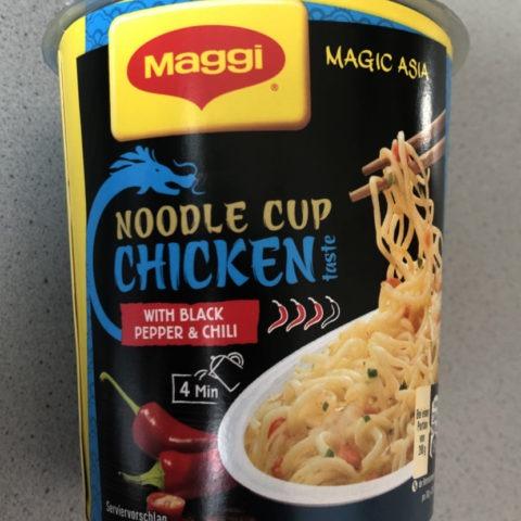 "#1565: Maggi Magic Asia ""Noodle Cup Chicken Taste with Black Pepper & Chili"" (2019)"