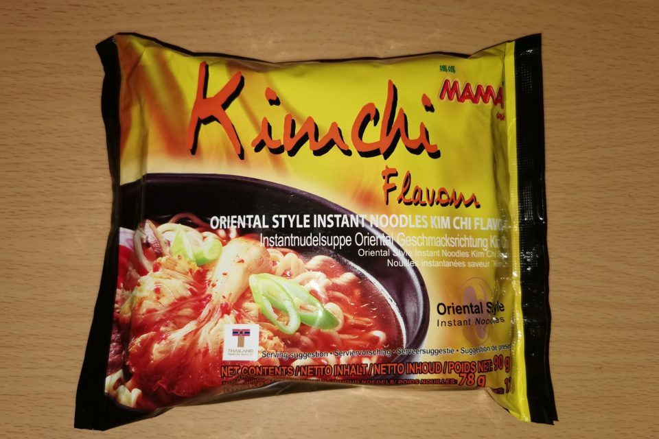 "#1880: Mama Oriental Style Instant Noodles ""Kimchi Flavour"" (2021)"