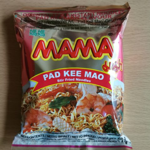 "#1915: Mama ""Pad Kee Mao (Stir Fried Noodles)"" (2021)"
