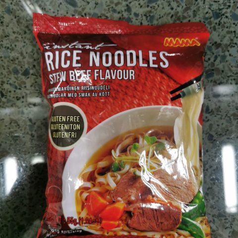 "#1890: Mama ""Instant Rice Noodles Stew Beef Flavour"""