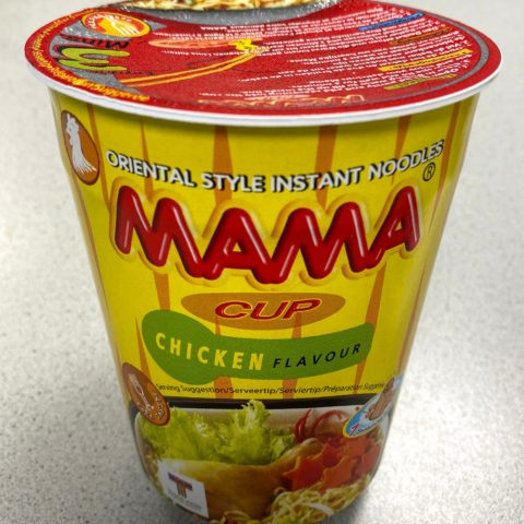 "#574: Mama Oriental Style Instant Noodles ""Chicken Flavour"" Cup"