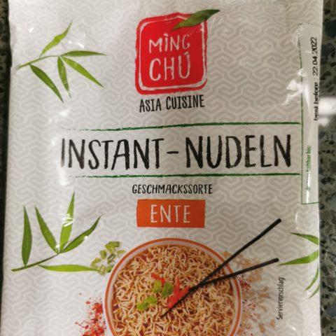 """#2045: Ming Chu """"Instant Nudeln Geschmackssorte Ente"""""""