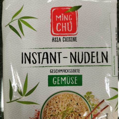"#2008: Ming Chu ""Instant Nudeln Geschmackssorte Gemüse"""