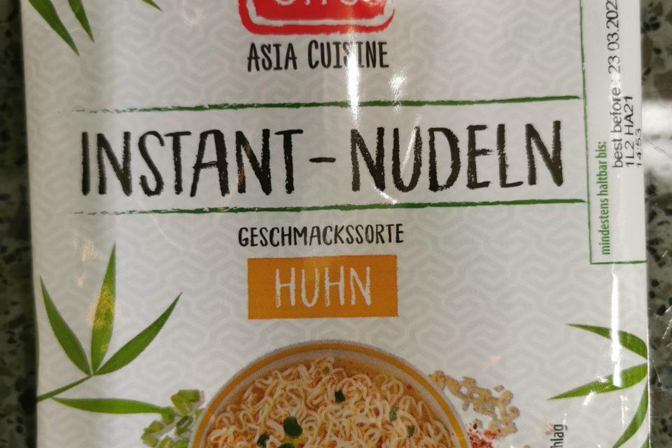 "#2022: Ming Chu ""Instant Nudeln Geschmackssorte Huhn"""