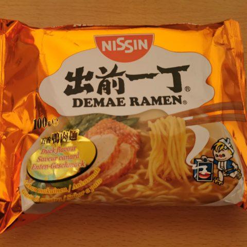 """#1876: Nissin Demae Ramen """"Duck Flavour"""" (2021)"""