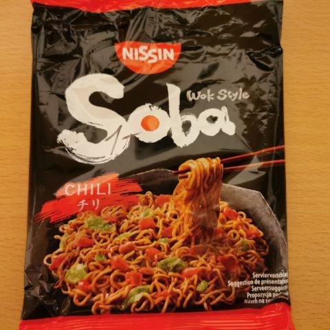 """#1958: Nissin """"Soba Chili"""" Wok Style (2021)"""