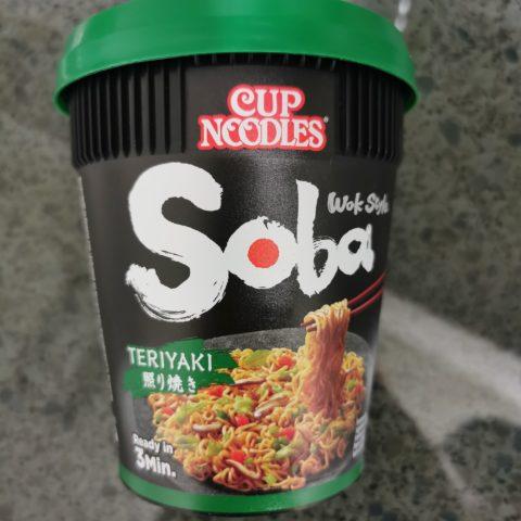"#2147: Nissin ""Soba Teriyaki"" Cup Noodles Wok Style (2021)"