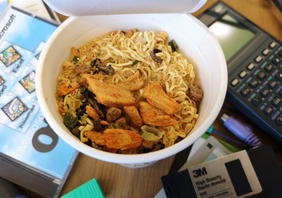 "#1515: Nissin ""Cup Noodle Nice Kimchi Tonkotsu"""