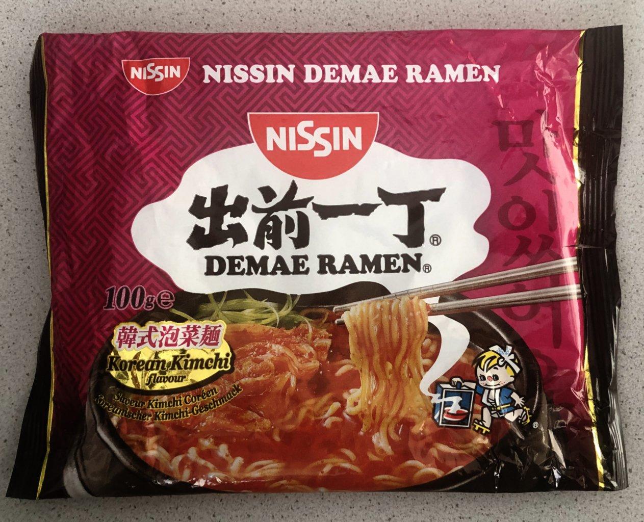 """#973: Nissin Demae Ramen """"Korean Kimchi Flavour"""""""