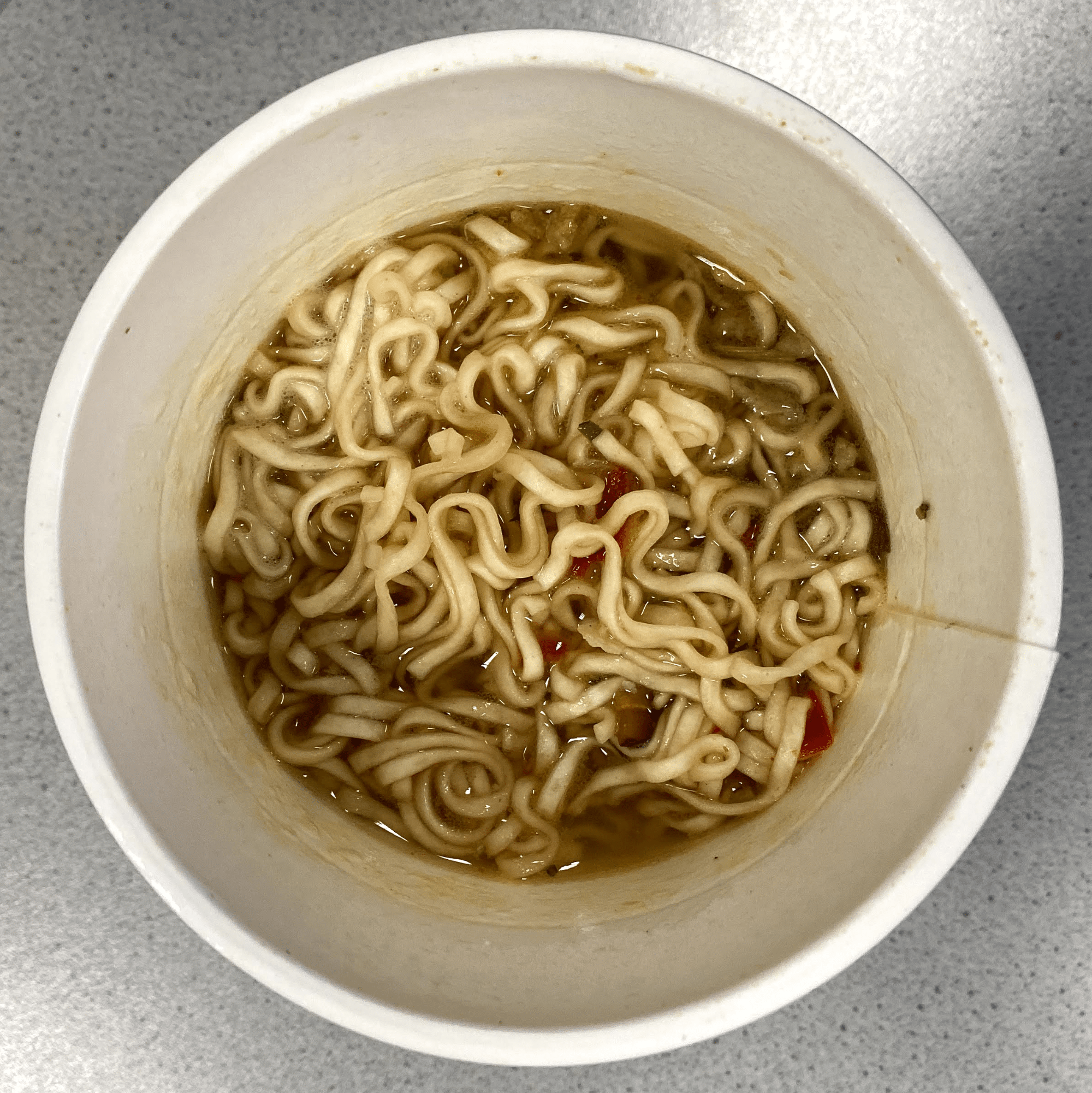 """#1747: Nissin Cup Noodles """"Ginger Chicken - Savoury Shiitake Soup"""" (Update 2021)"""