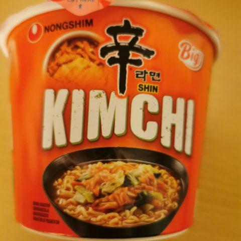 """#1908: Nongshim """"Kimchi Shin Ramyun"""" Big Bowl (2021)"""