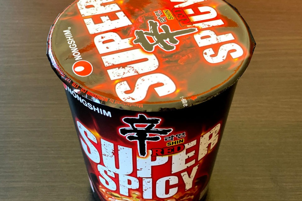 "#1807: Nongshim ""Shin Ramyun Red Super Spicy"" Cup"