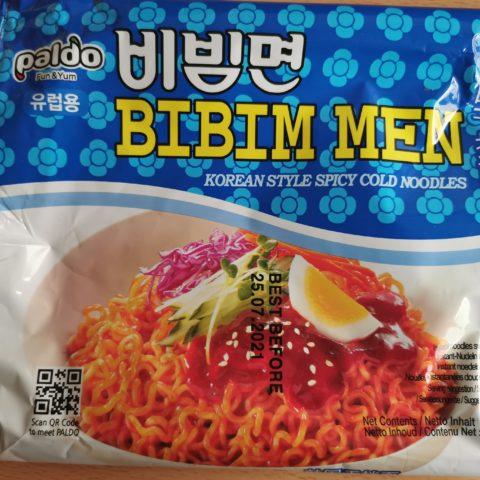 "#1985: Paldo: ""Bibim Men"" (Korean Style Spicy Cold Noodles) (2021)"