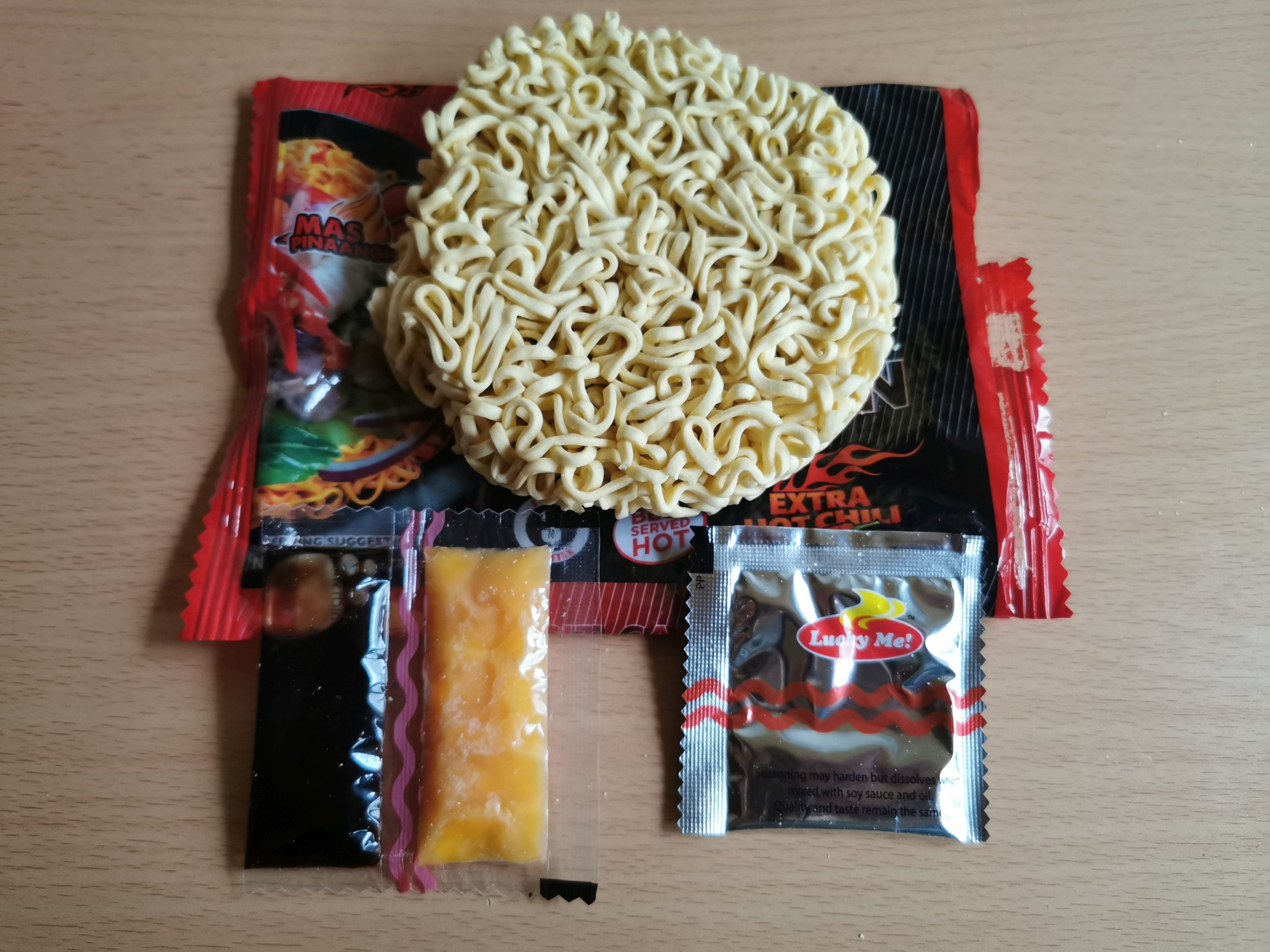 """#1887: Lucky Me! """"Instant Pancit Canton Extra Hot Chili Flavour"""""""