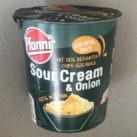 """#1588: Pfanni Kartoffelsnack """"Sour Cream & Onion"""" Chips-Geschmack"""