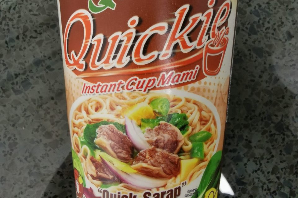 """#2135: Quickchow """"Quickie Nilagang Baka Flavour"""" Cup"""