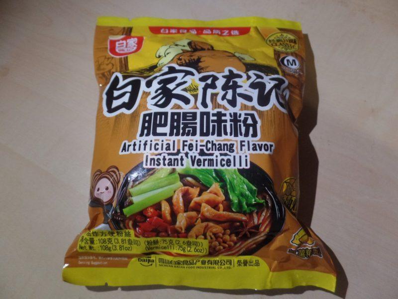 "#1460: Sichuan Baijia ""Artificial Fei-Chang Flavor"" Instant Vermicelli (Update 2021)"