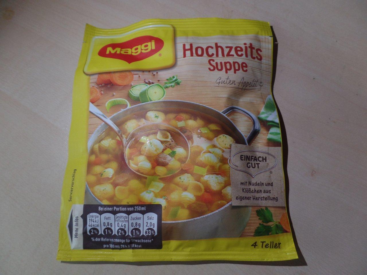 """#1462: Maggi """"Hochzeits Suppe"""""""
