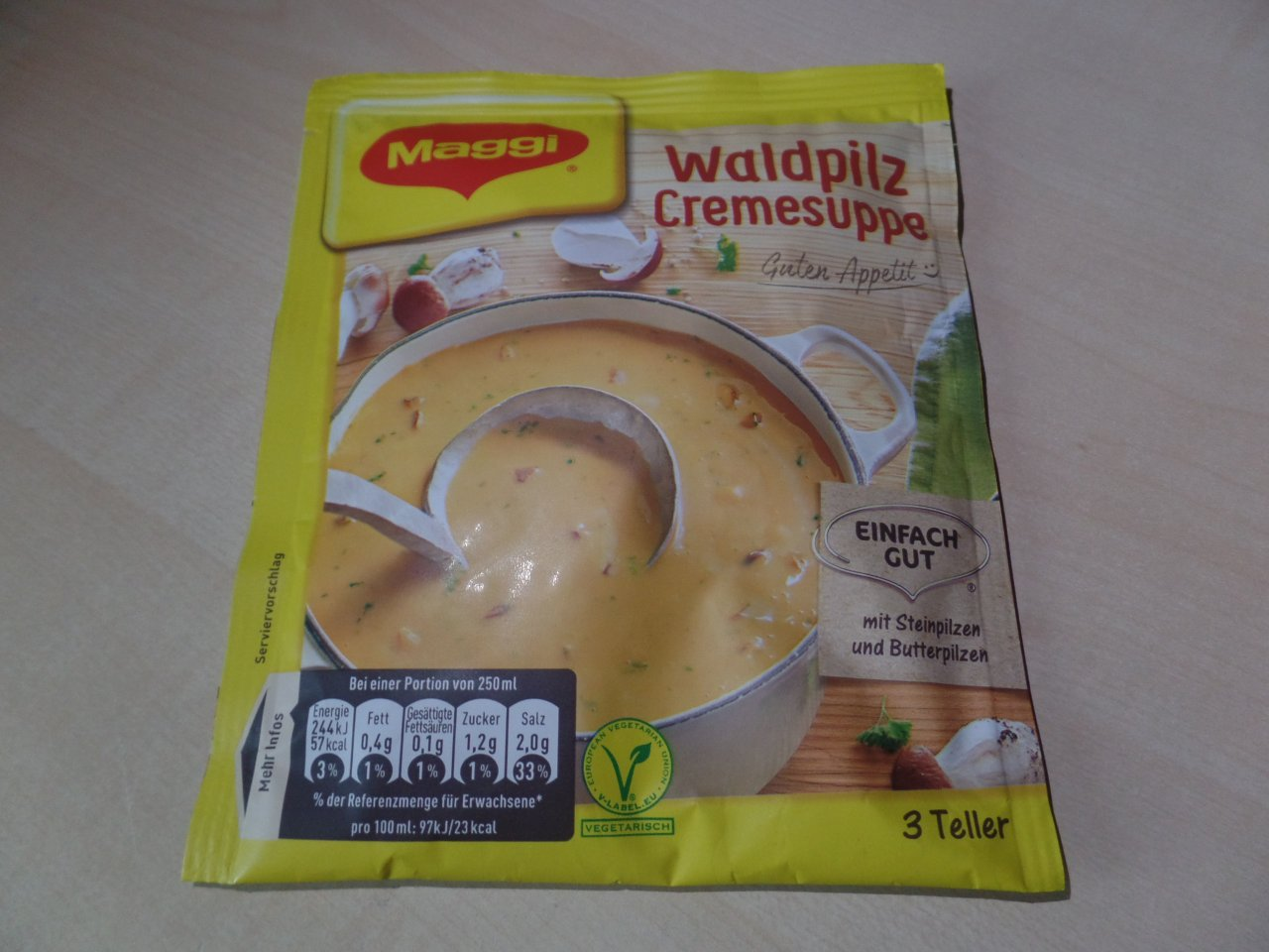 "#1469: Maggi ""Waldpilz Cremesuppe"""