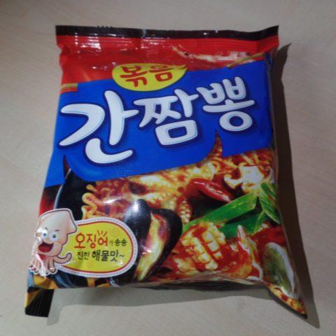 """#481: Samyang """"Ganjjampong"""" (Hot Seafood) Fried Noodles"""