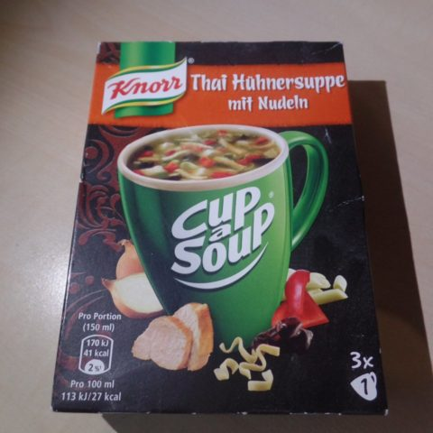 "#1470: Knorr Cup a Soup ""Thai Hühnersuppe mit Nudeln"""