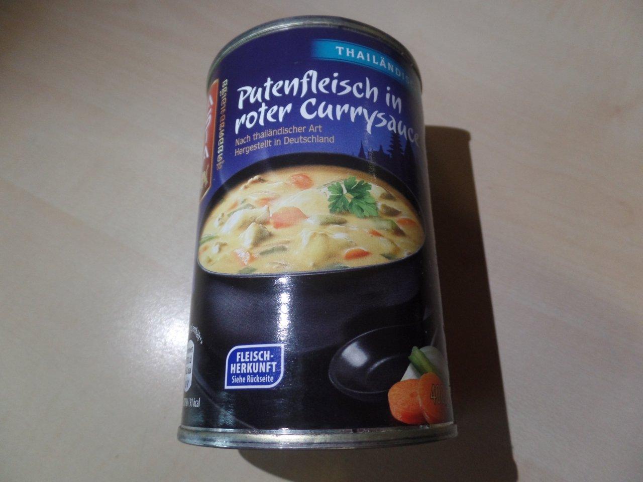 """#1471: Asia """"Putenfleisch in roter Currysauce"""""""