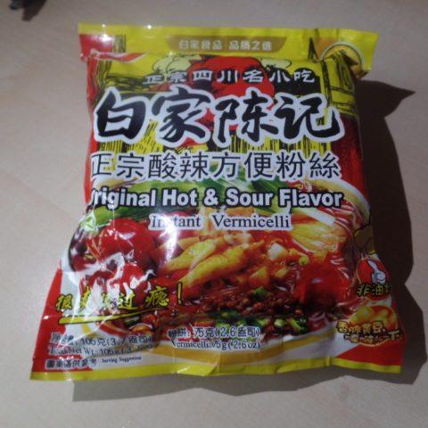 "#1473: Sichuan Baijia ""Original Hot & Sour Flavor Instant Vermicelli"""