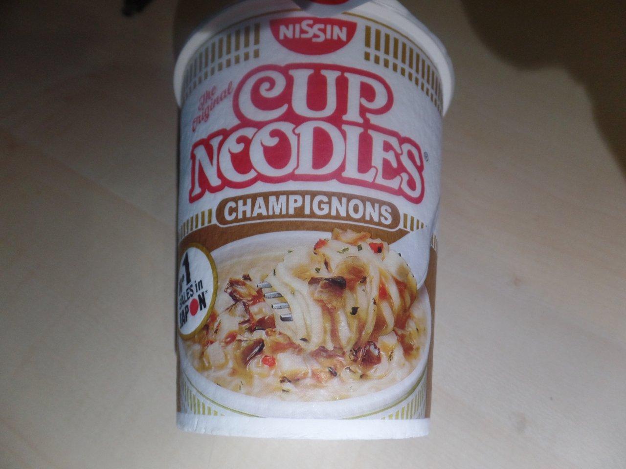 """#1477: Nissin Cup Noodles """"Champignons"""""""