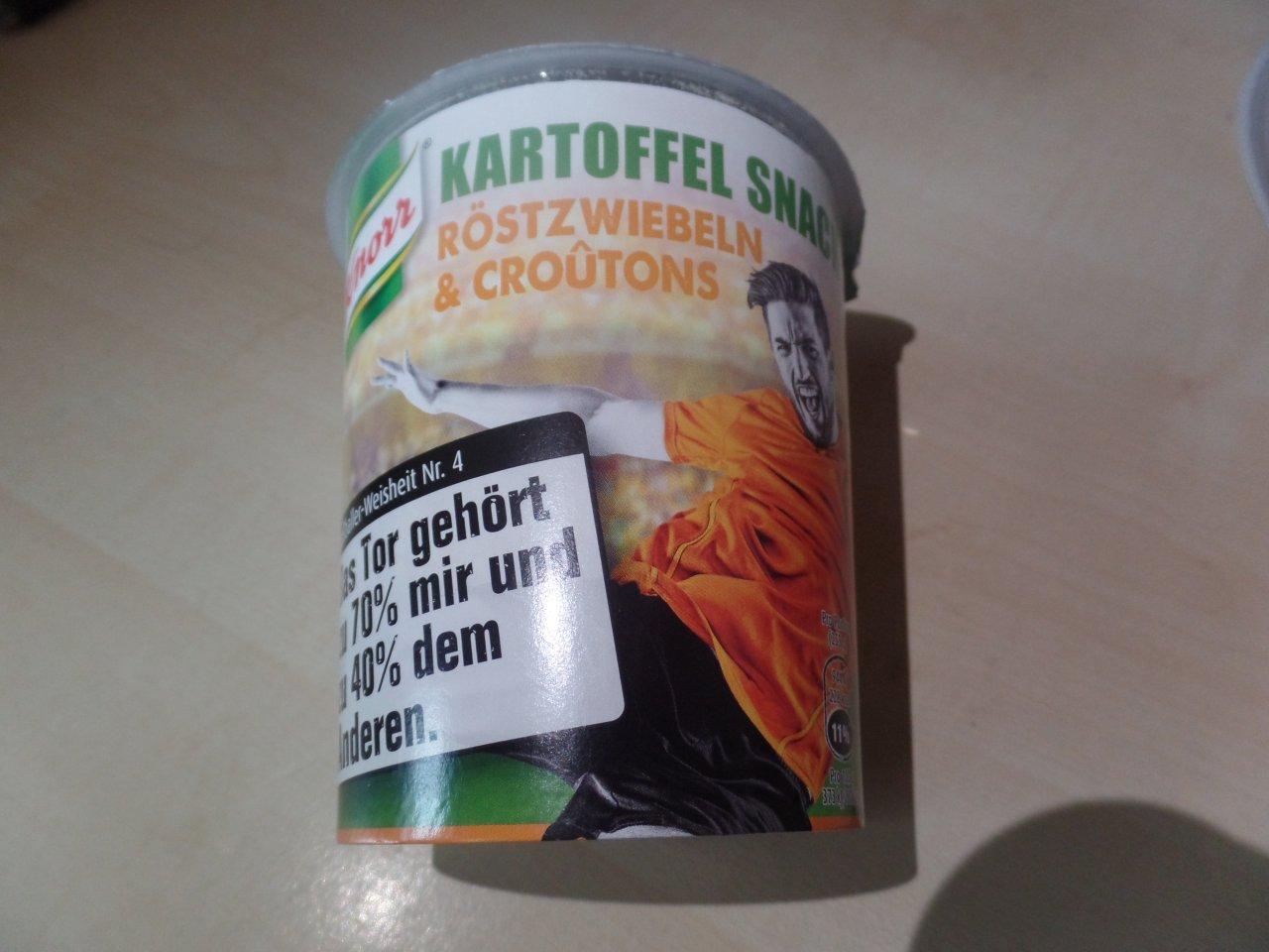 "#1480: Knorr ""Kartoffel Snack Röstzwiebeln & Croûtons"""