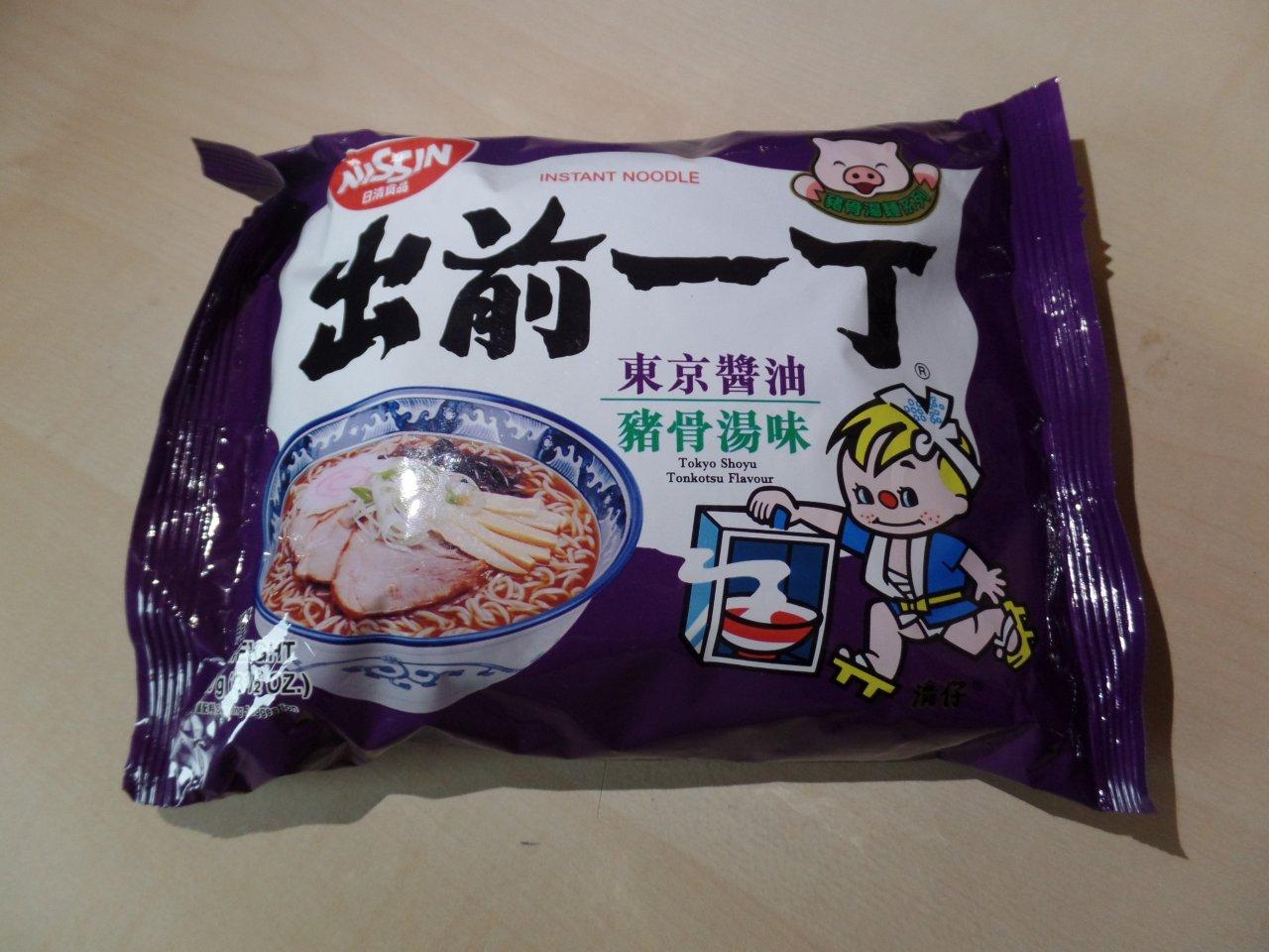 """#1481: Nissin Demae Ramen """"Tokyo Shoyu Tonkotsu Flavour"""""""